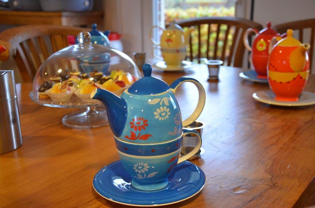 High tea van Workshop likeur maken op Hammerhof